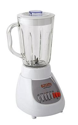 IMUSA USA GAU-80313W 10-Speed Blender with Glass Jar 4, 42 o