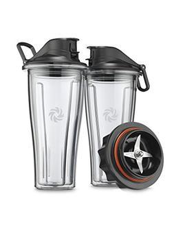 Vitamix Blending Cups Starter Kit, Clear