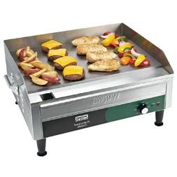 """Waring WGR240 Electric Countertop Griddle 26"""" - 240V"""