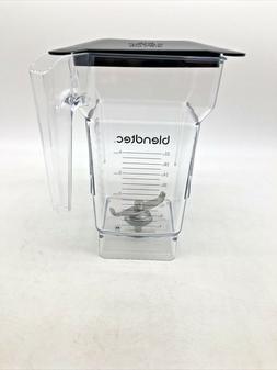 Blendtec Wildside Blender Jar - 2 Qt, with Soft Lid for Soun