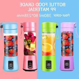wxb portable blender usb mixer electric juicer
